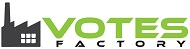 Votes Factory Retina Logo